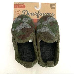 DEARFOAMS Camo Slippers for Little Kids